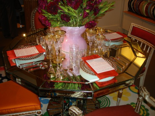 Martha Angus's tabletop display