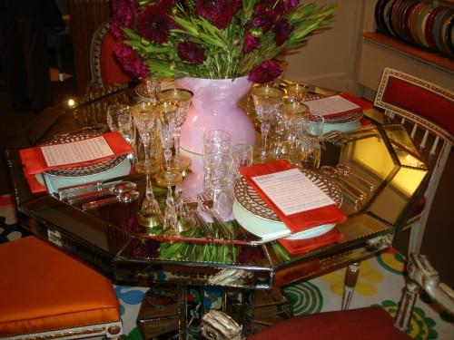 Martha Angus's tabletop display