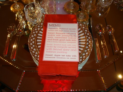 Paperstudio's PS Holiday Menu on Display at Gump's