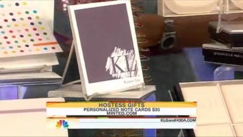 Kathie Lee's cards