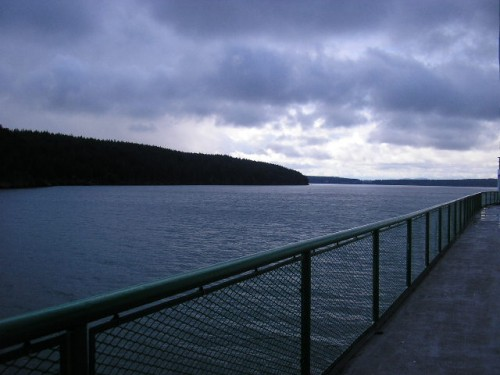 A view from the Orcas Ferry