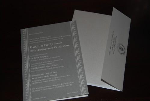 Dauphine Invite for the Hamilton Family Shetler
