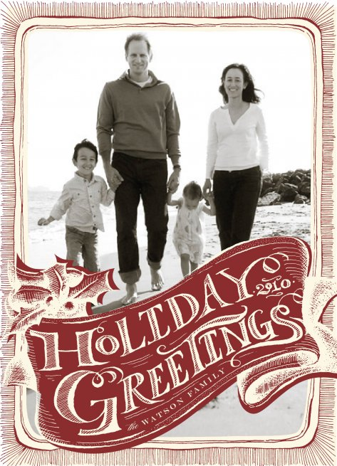 Holiday Greetings by Potts Design
