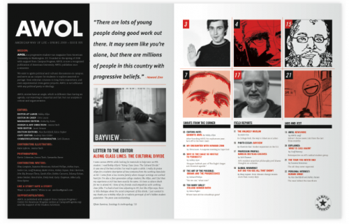 Taich AWOL Magazine Spread