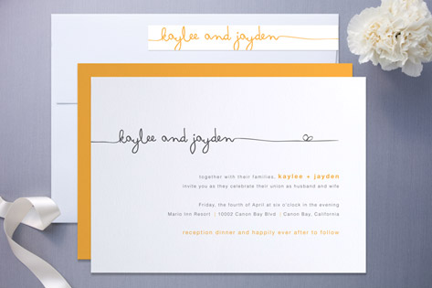 make minted wedding invitations look diy fabulous | julep, Wedding invitations