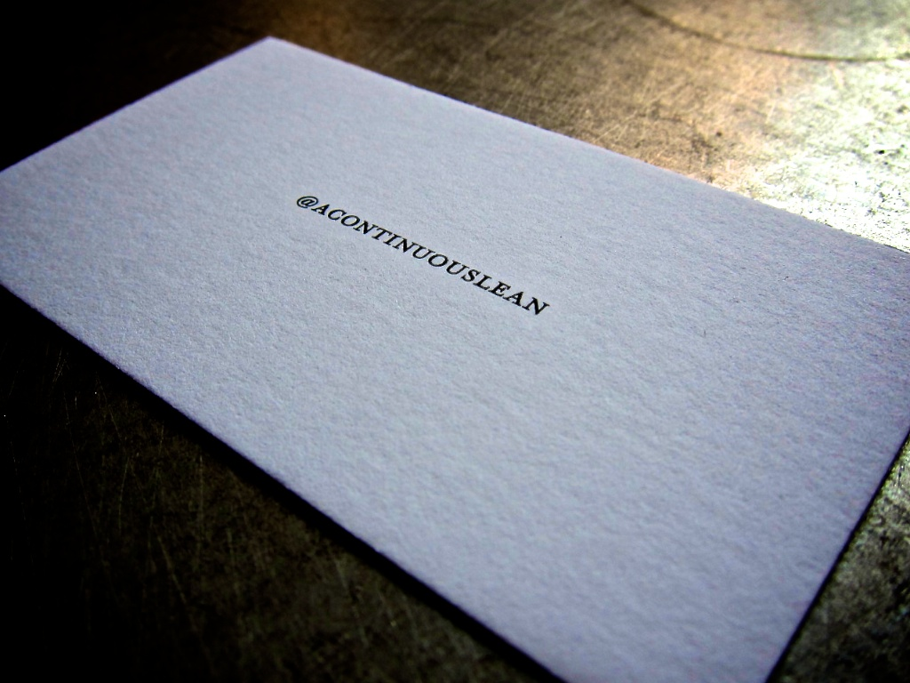 paper business cards for the tech geek  julep
