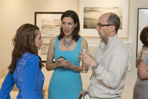 Alison Pincus, Tina Sharkey, and Dick Costolo