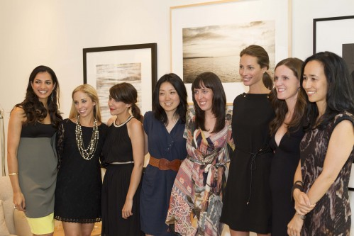 Minted team with Christy Turlington Burns