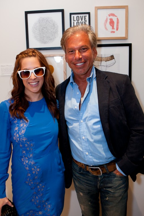 Ali Pincus, founder of One Kings Lane, and Gary Friedman, CEO of Restoration Hardware