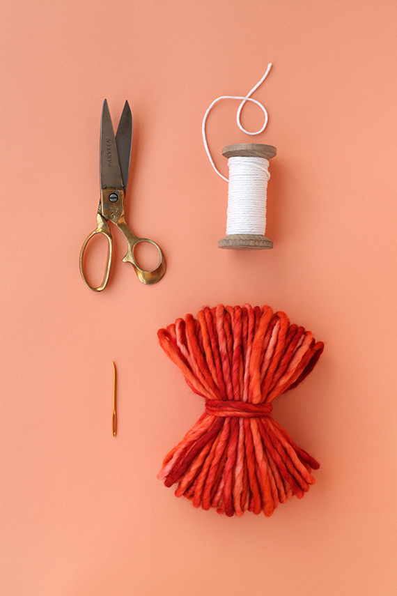 Season pompom supplies