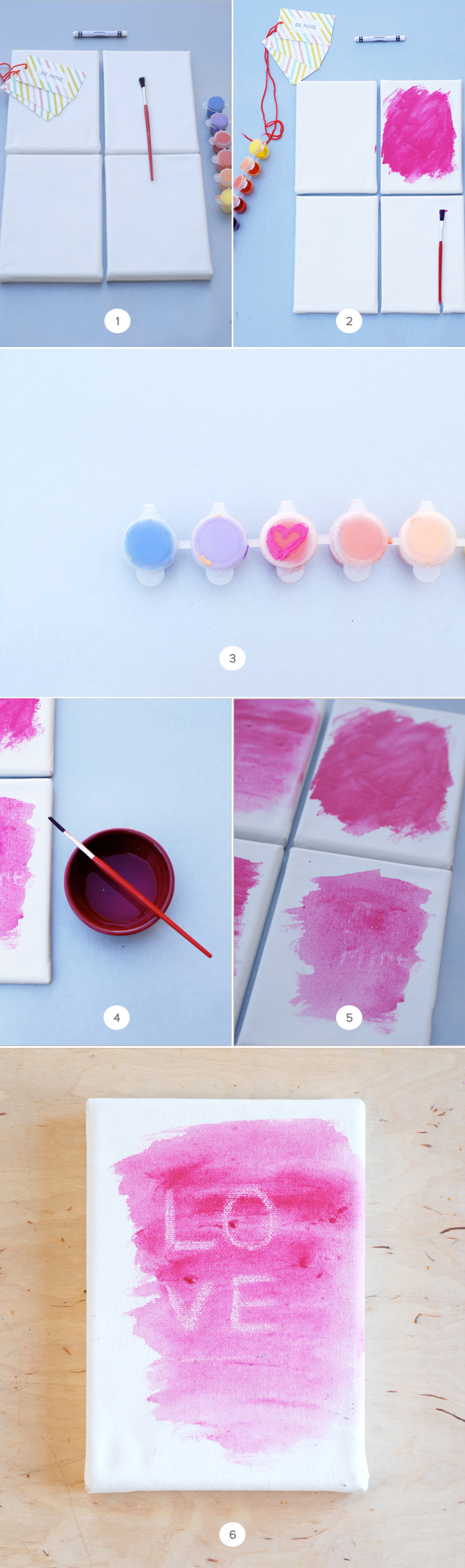 secret valentine diy project