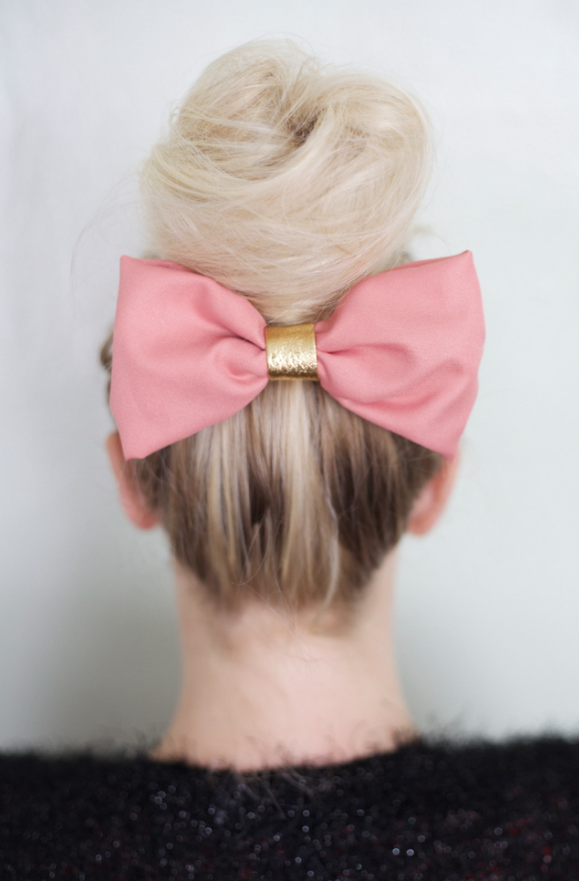 no sew hair bow tutorial