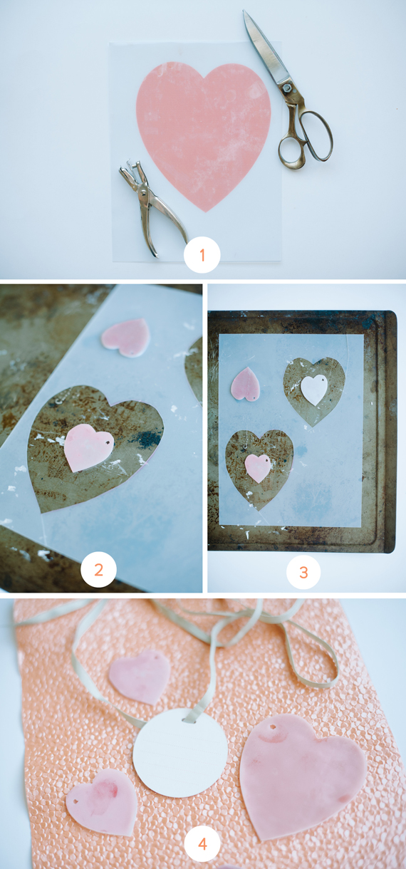 DIY Shrinky heart keychains