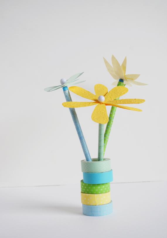 FlowerPencilTopper