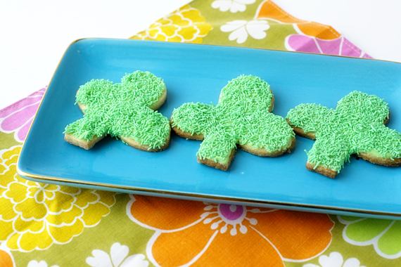 Shamrock Cookie Cutter St Patricks Day DIY