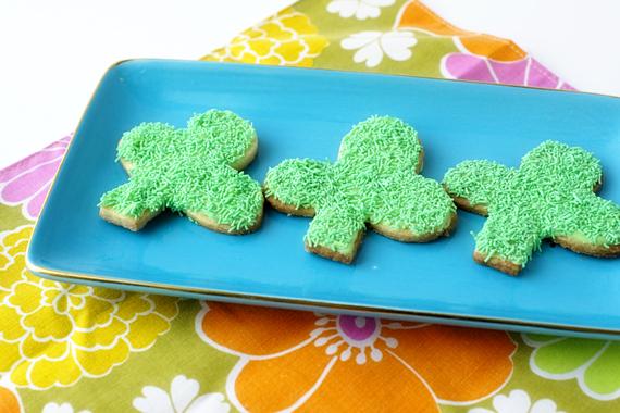 Shamrock Cookie Cutter St Patricks Day DIY