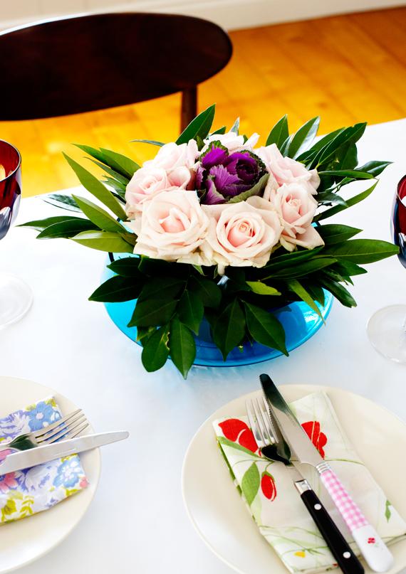 Floral Centrepiece DIY