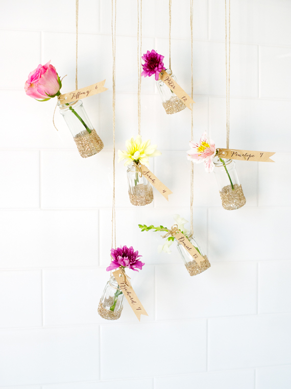 Hanging Garden Escort Cards
