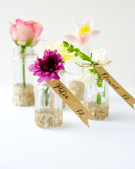Hanging Garden Escort Cards DIY