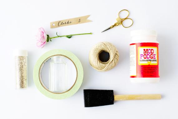 Hanging Garden Escort Cards DIY Materials