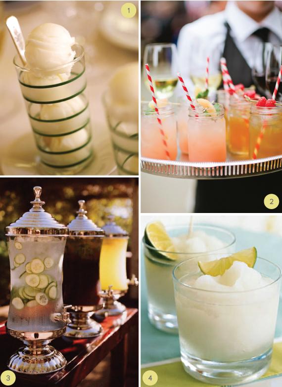 Summer Wedding Lemonade