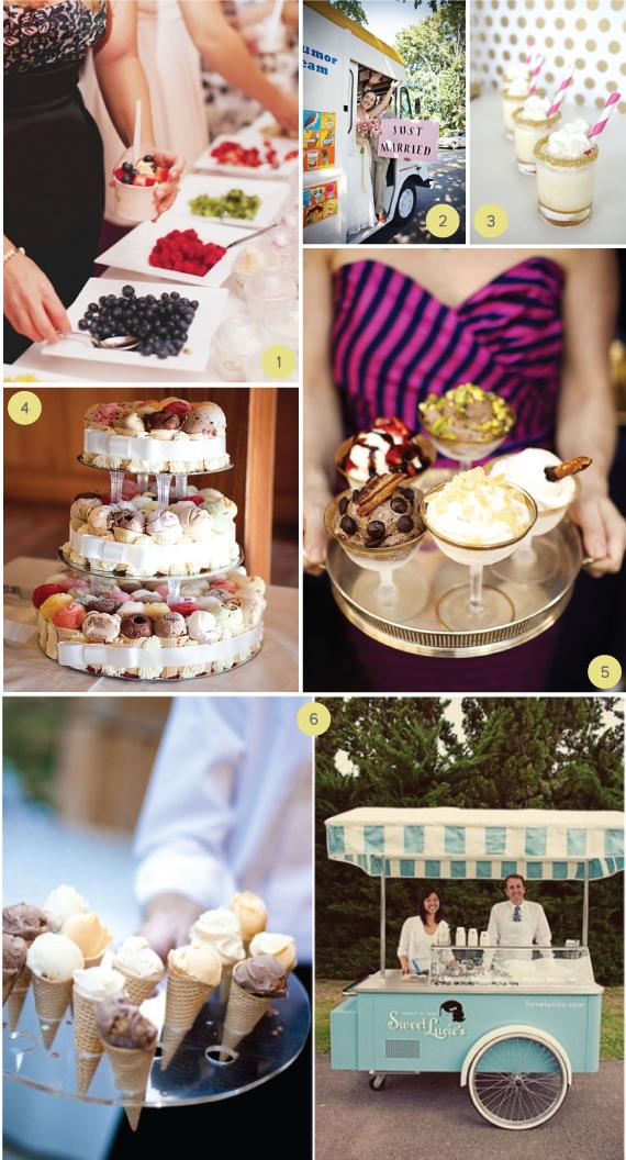Summer Wedding Ice Cream