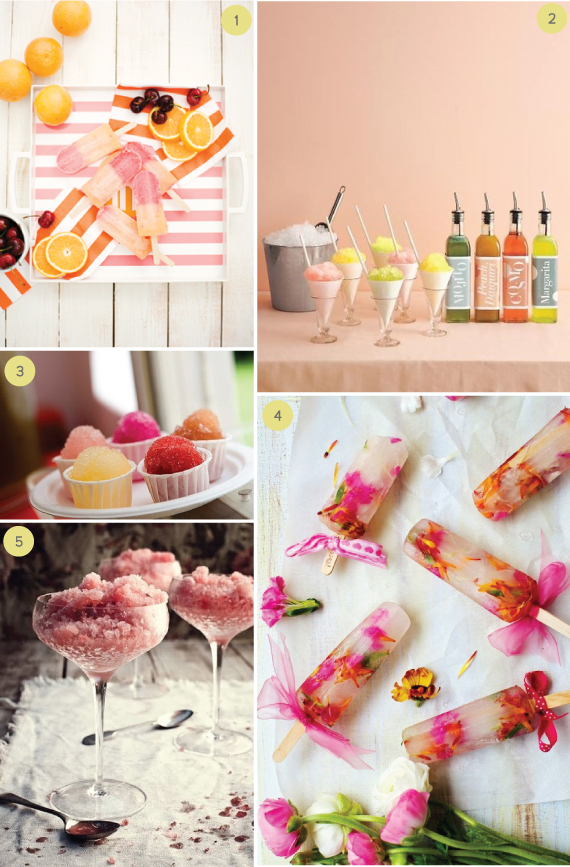 Summer Wedding Popsicles