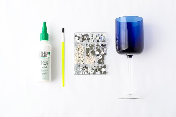 Gatsby Wine Glasses DIY Materials