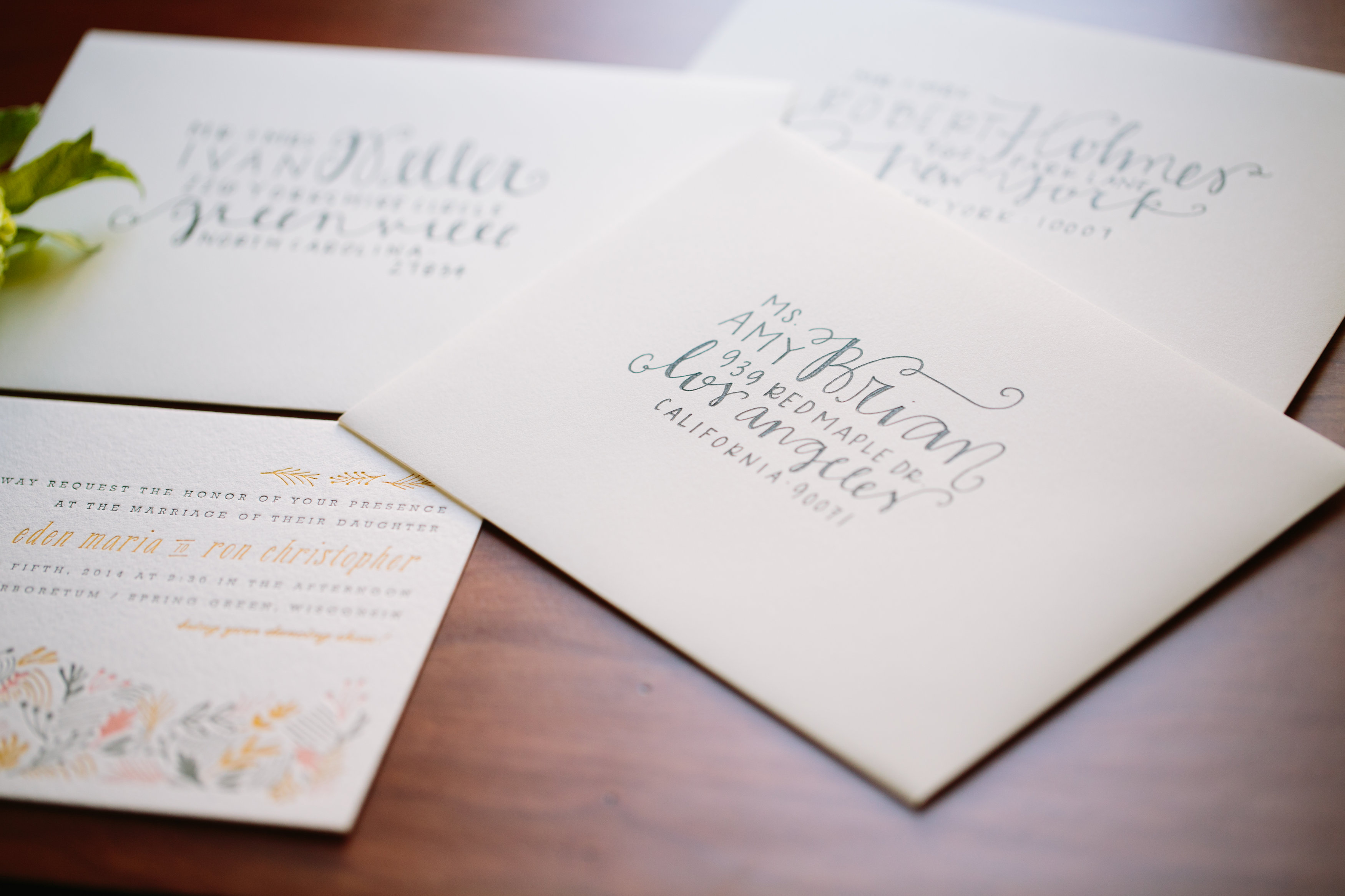 How To Write Invitation For Wedding: DIY Wedding Envelope Addressing Tips