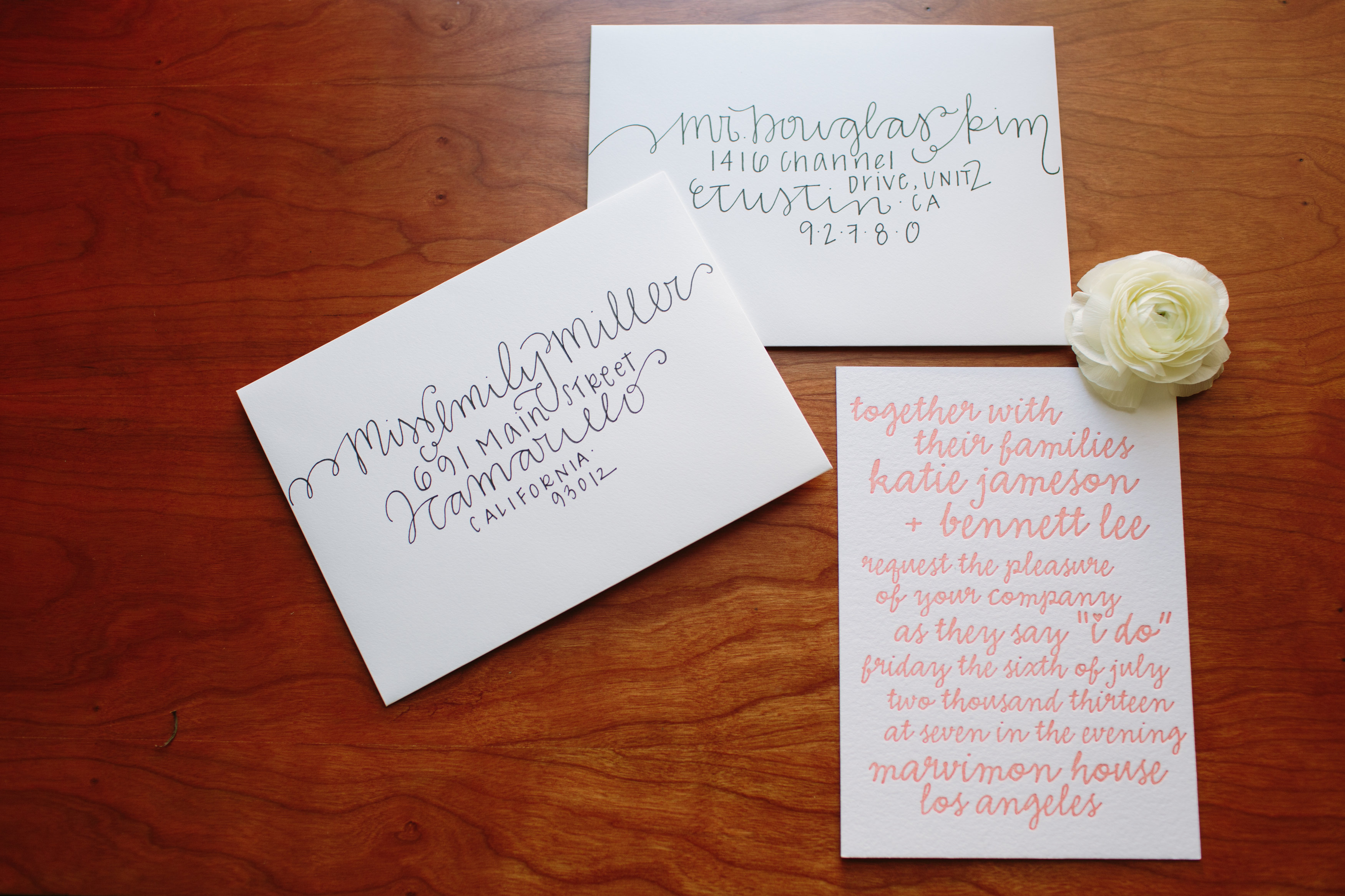 DIY Wedding Envelope Addressing Tips