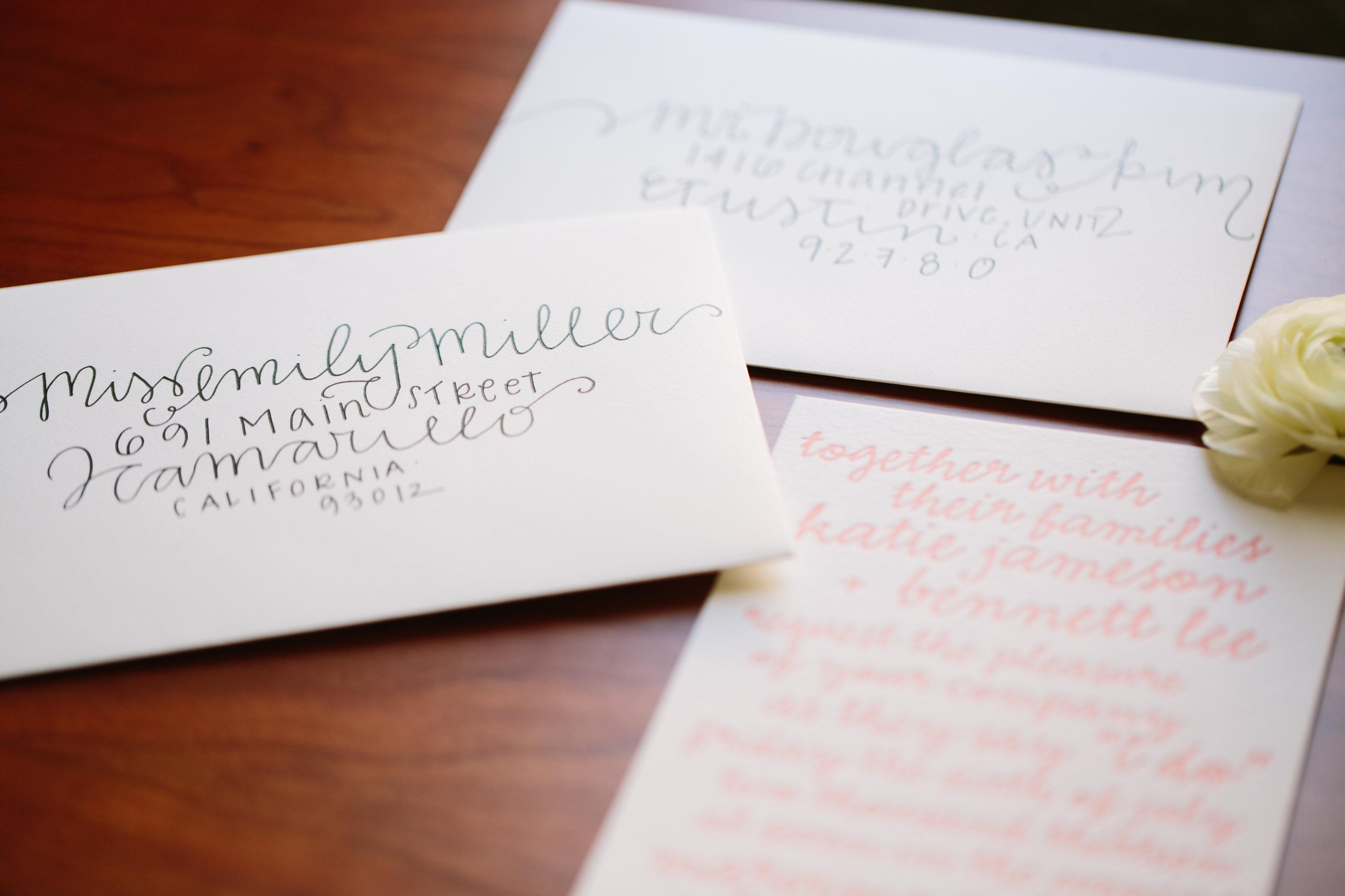 DIY Wedding Envelope Addressing Tips | Julep