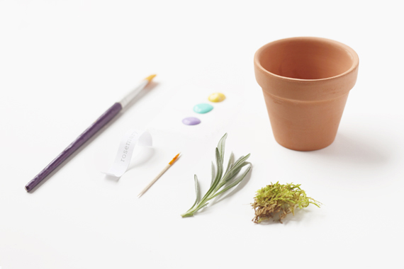 Herb gift materials
