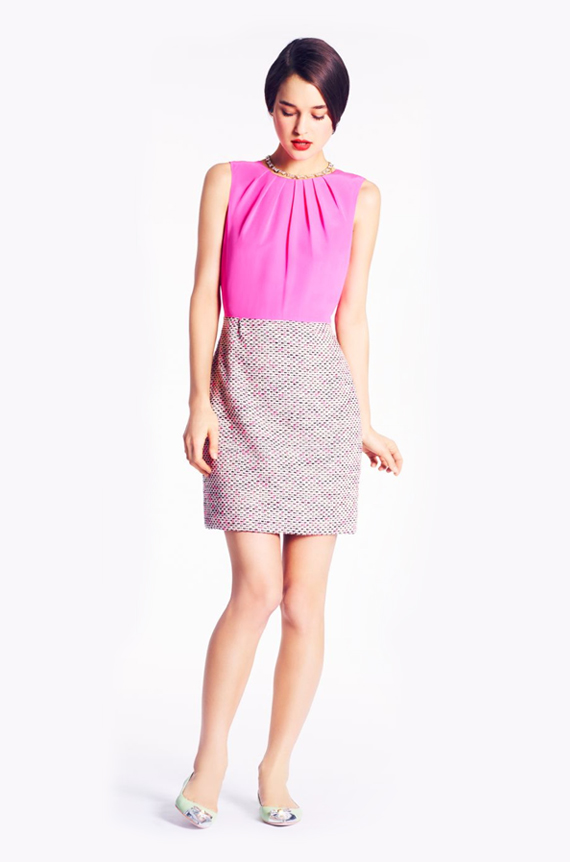 playful and mod getaway dress by kate spade