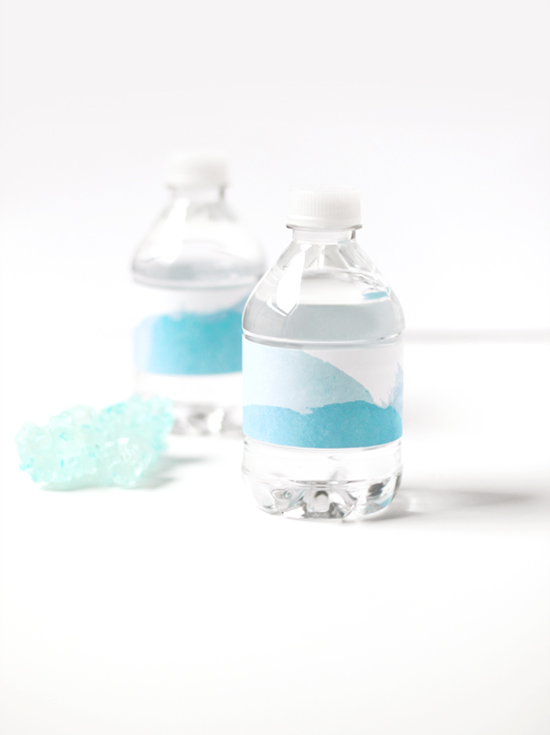 Bottled Water Pattern Wraps