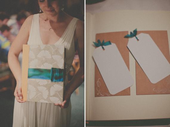 handmade guestbook