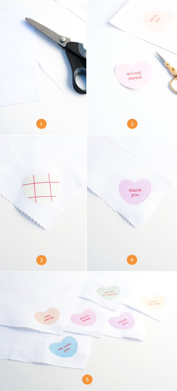 Step by Step Convseration Napkins