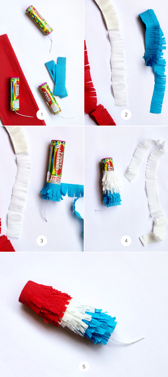 Buy a paper popper step by step