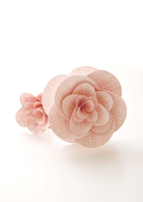 paper confetti flowers