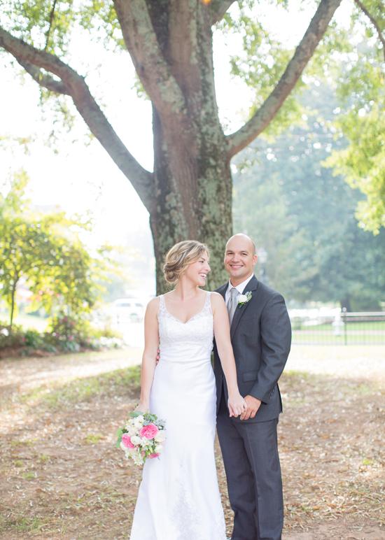 minted wedding couple