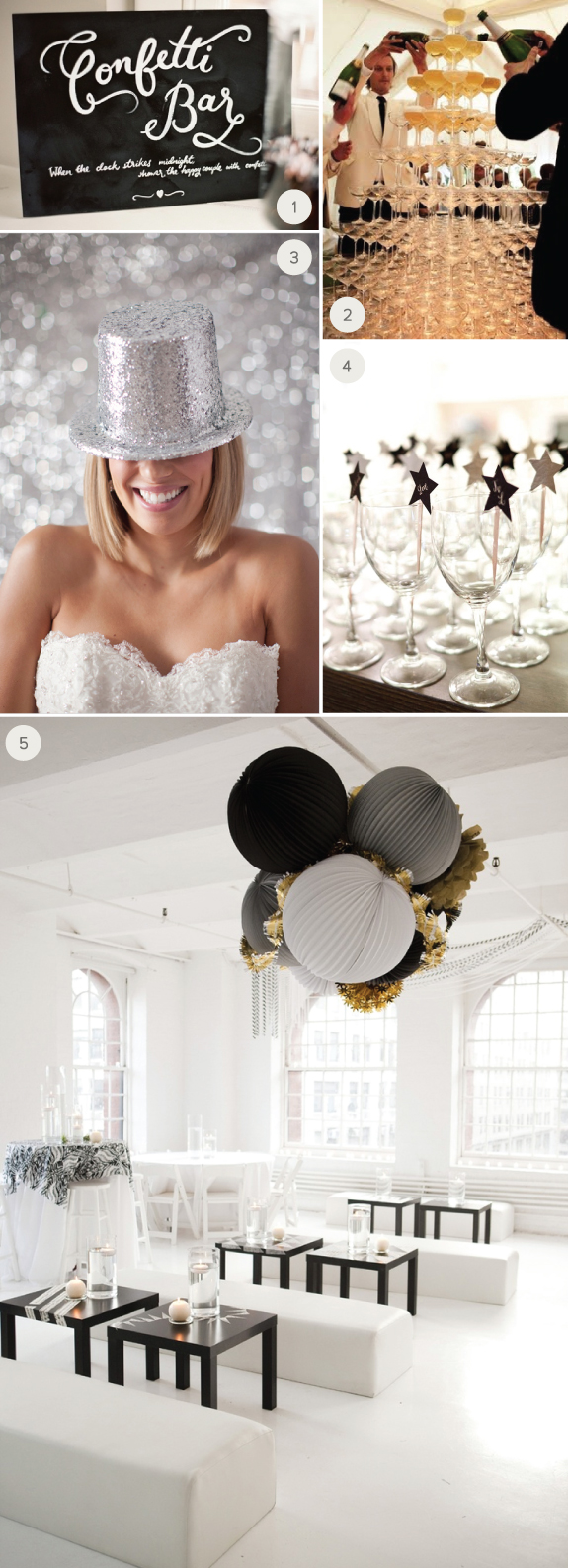 NYE Wedding Ideas