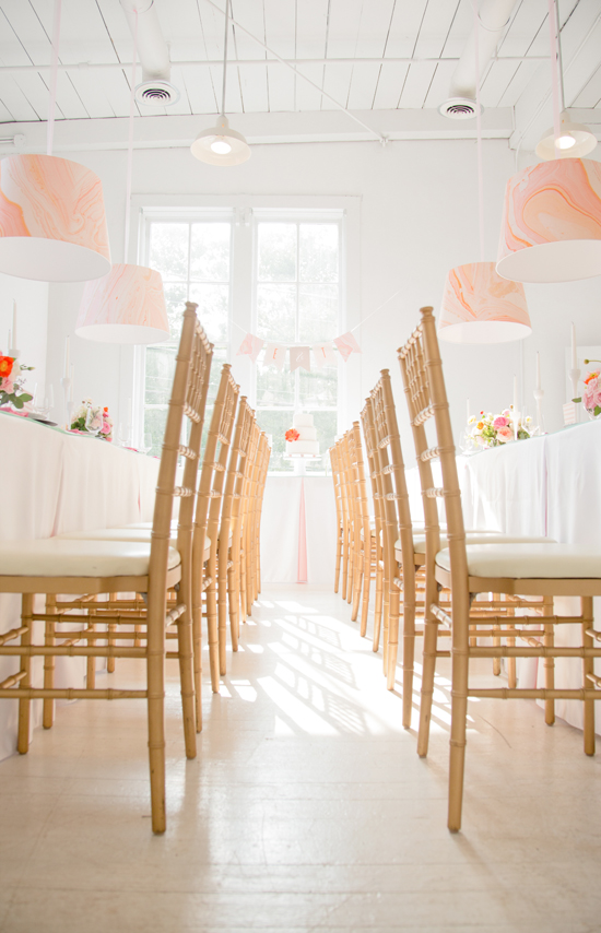 gallery wedding reception