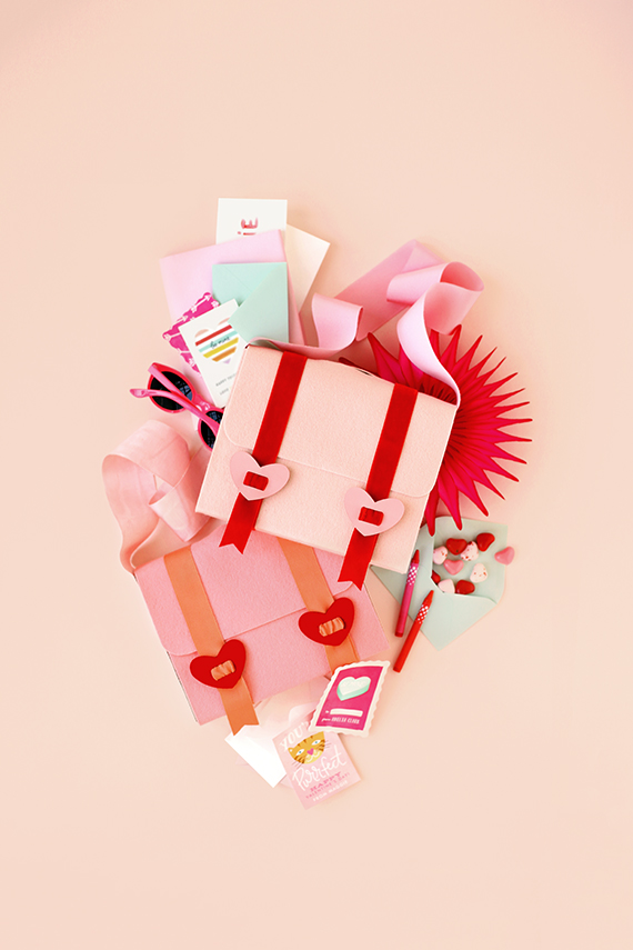 Valentine Mail Bag via Minted