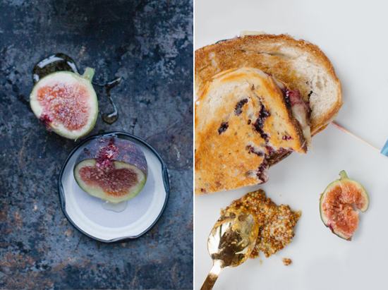 figs and grilled cheese minted cabin dinner