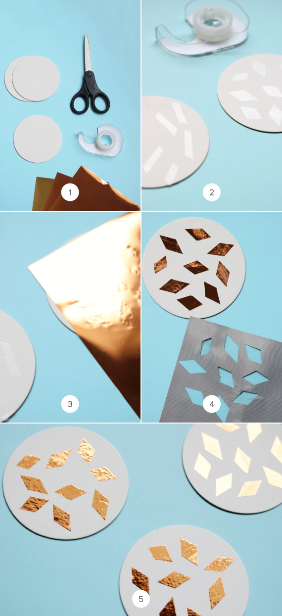 how to make cone piece with foil