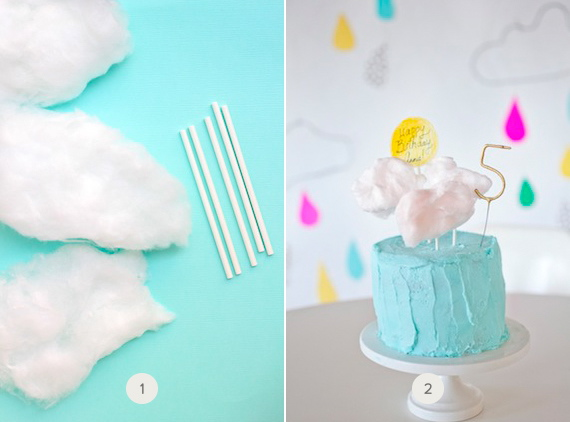 how to make your own cake topper