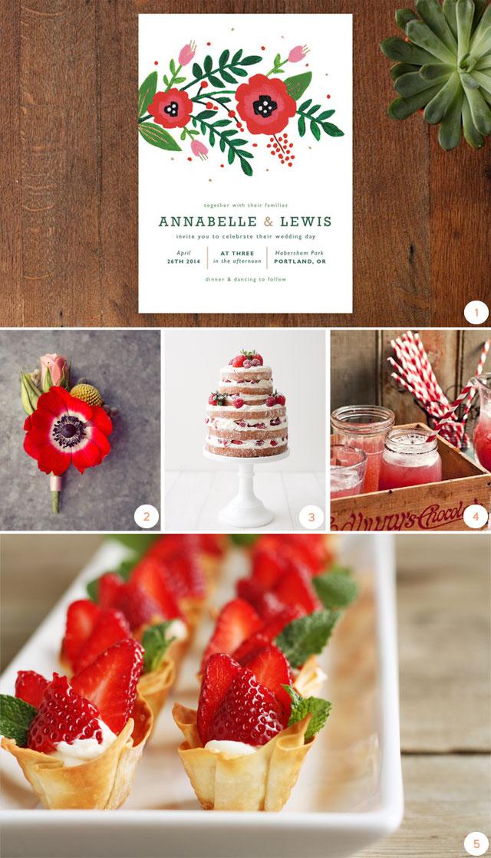 seasonal soirees strawberry