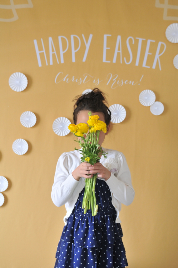 Minted Party Backdrop