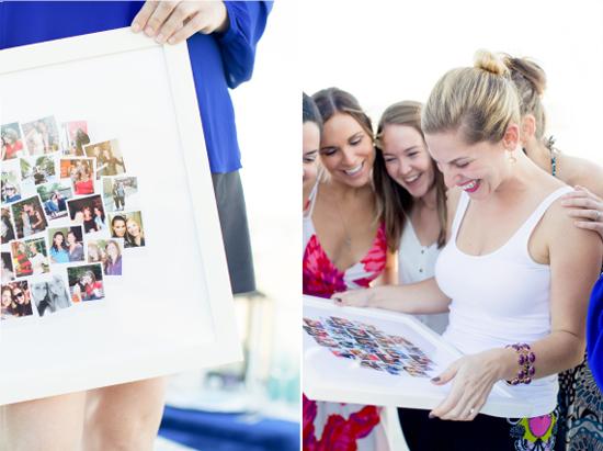 Snapshot Mix Bachelorette Collage Gift