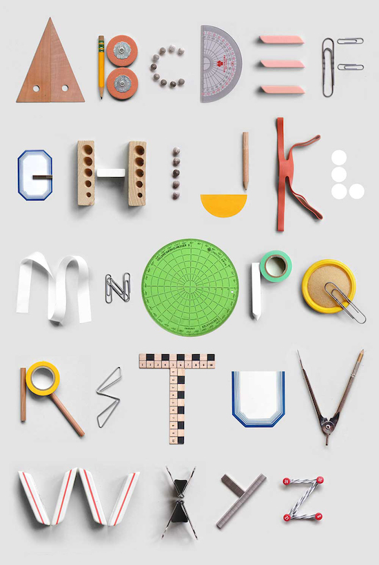 Stationery Alphabet
