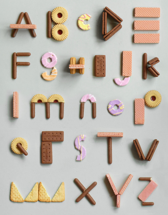 Biscuit Alphabet